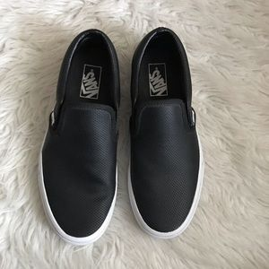 Vans Perforated Slip On Shoes